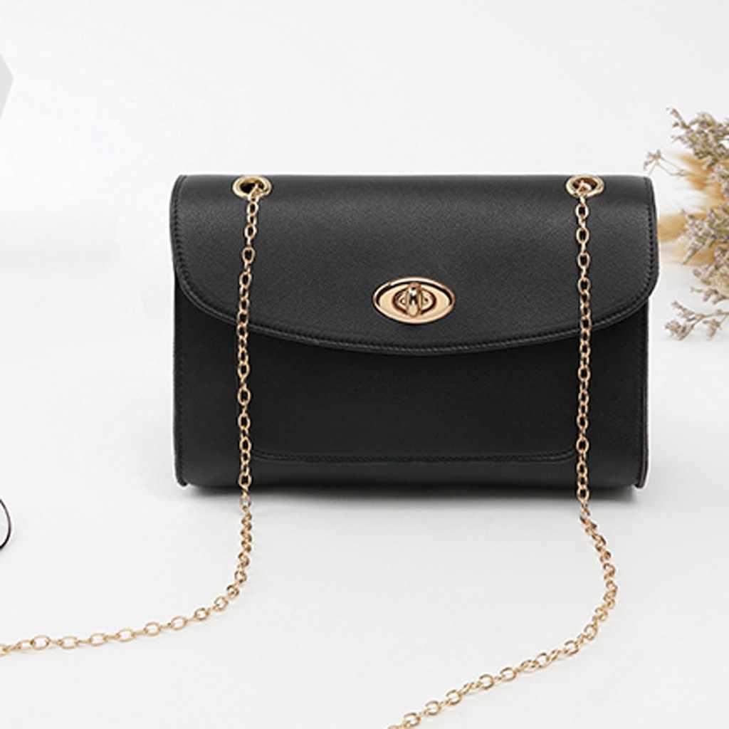 Moda damska torba na ramię skórzana mała torebka na dziewczynę kwadratowa torba messenger crossbody luksusowa czarna znana marka wodoodporna