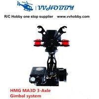 Hmg MA3D 축 브러시리스 짐벌 키트 뫼비우스의 액션 카메라 808 multicopter fpv