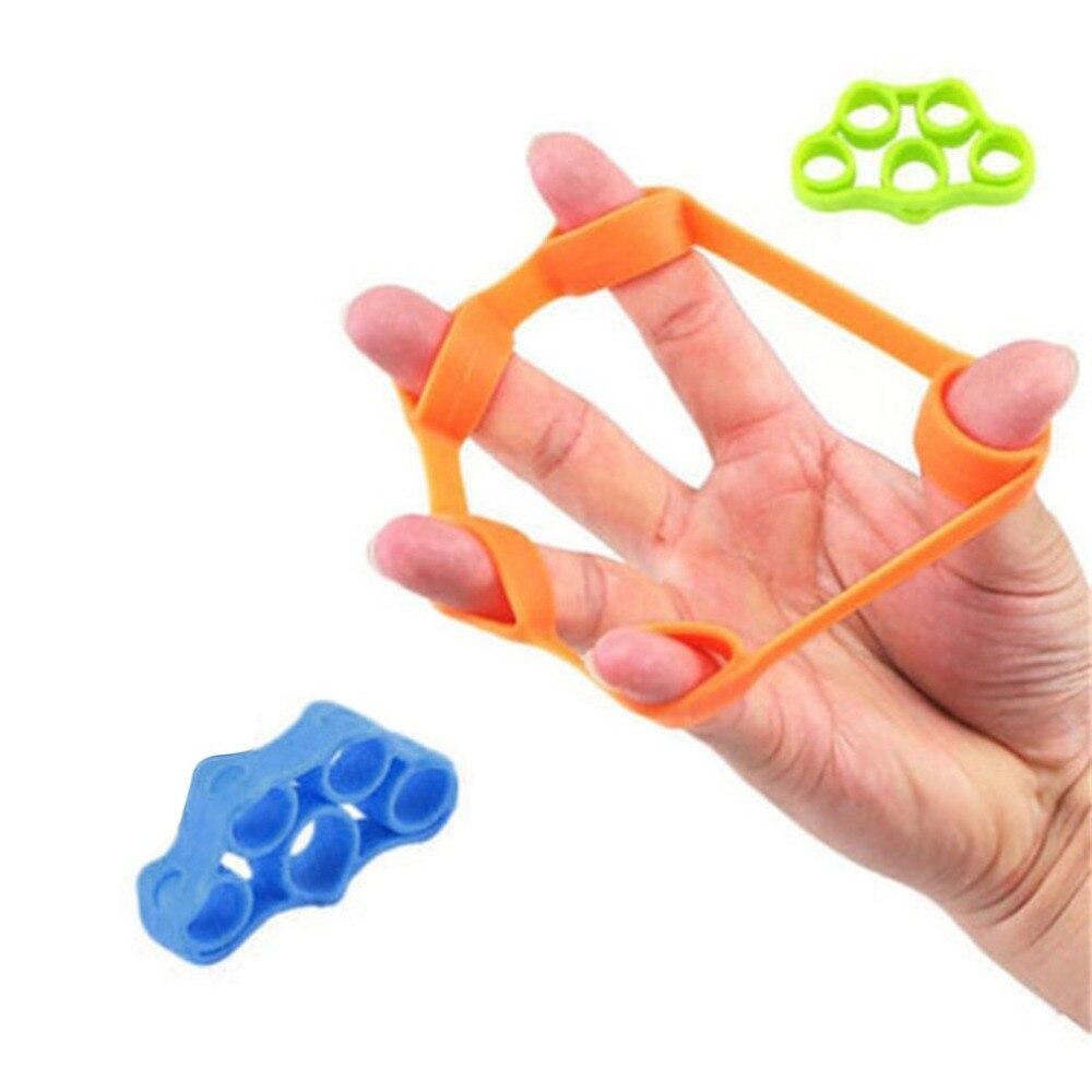 New Portable Fitness Hand Finger Trainer Pull Ring Band Tension Tool Strength Exerciser Training Finger Rehabilitation Trainer