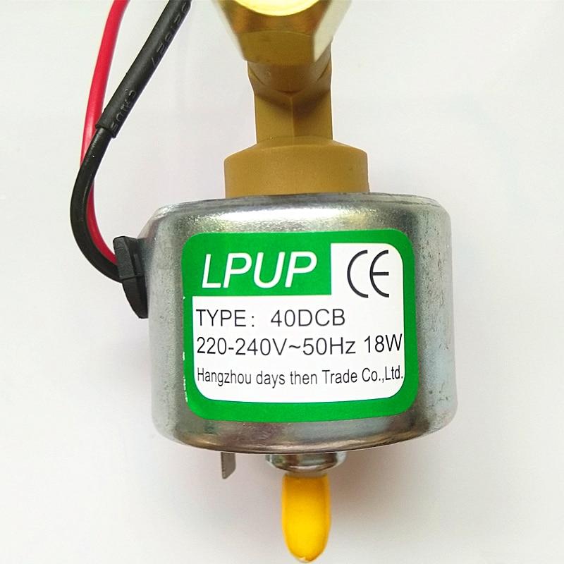 Low-power pump smoke machine snow model 40DCB Power 220-240V-50HZ-18W