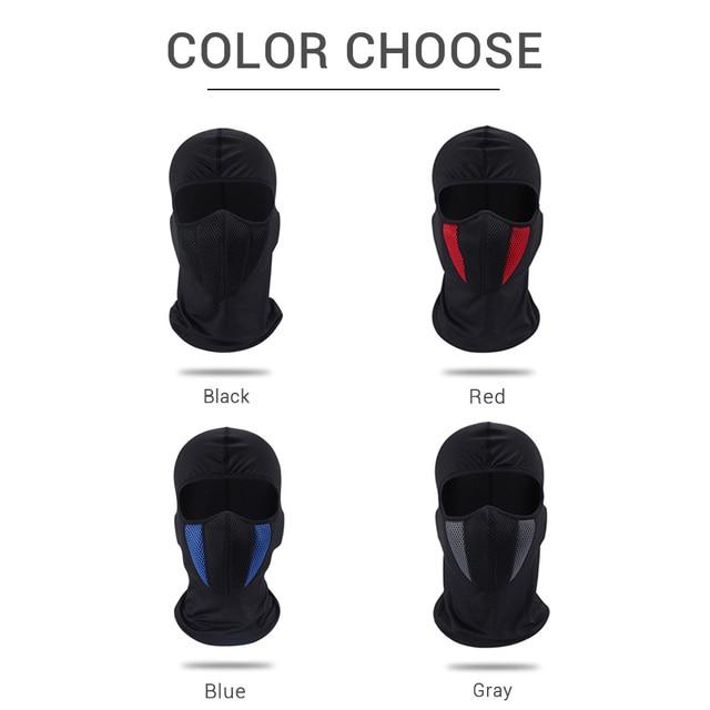 HEROBIKER Balaclava Moto Face Mask Motorcycle Face Shield Airsoft Paintball Cycling Bike Ski Army Helmet Full Face Mask 5