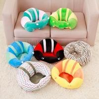 Bebê infantil crianças multifunction viagem sentado macio protetor travesseiro piso almofada sofá alimentação assento de jantar cadeira