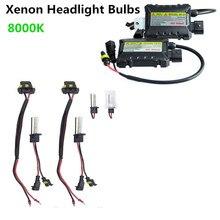For Vehicle Car 2PCS/Set 55W H1 HID Xenon Headlight Bulbs Conversion KIT+ Ballasts 8000K