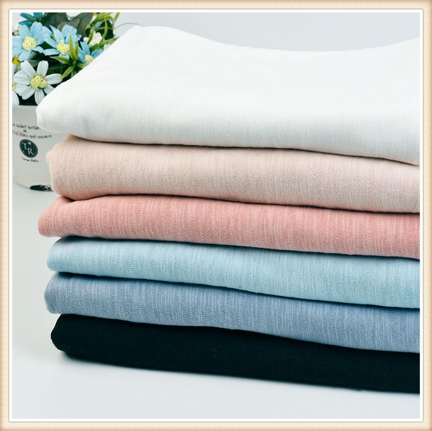 16 s de la Gata del algodón tela suave color sólido estilo de la manera para las