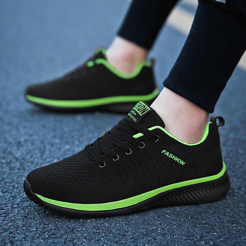 3fd925f1 Весенние мужские модные кроссовки мужская обувь Повседневная дышащая  мужская обувь новая 2019 удобная мужская обувь износостойкая