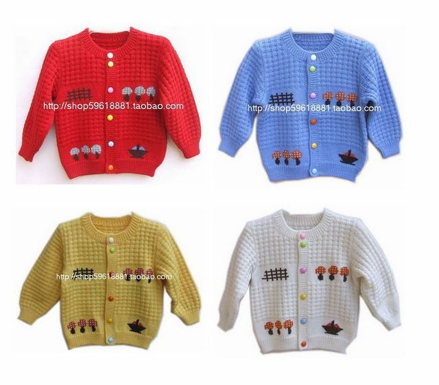 Clothing For Baby Boys Girl Knitted Cardigan Sweater Autumn Baby