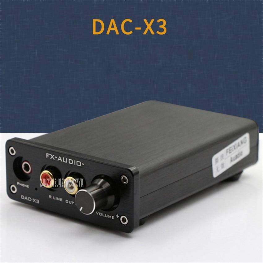 1 шт. DAC X3 внешние USB звуковые карты волокно/коаксиальный/USB декодер Fever, цифровой проигрыватель ЦАП независимый усилитель DC вход 9 16 В