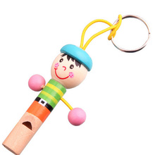 Mini Cartoon Pirate Wooden Kids Toy Whistle Musical Instrument Toddler Toys Game Of Children Kids Toys