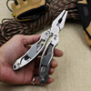 Outdoor Survival Necessity Stainless Steel 9In1 Tool Plier MultiTool Pliers With Kits Hunting Camping Tools Pocket