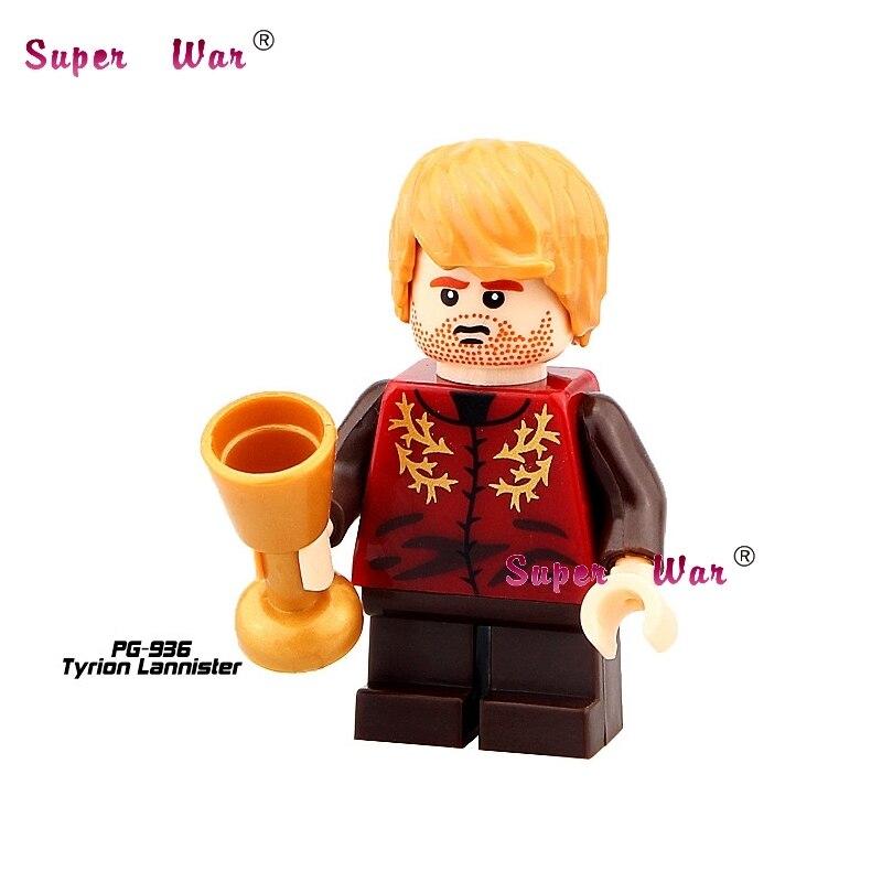 1PCS star wars superhero Game of Thrones Ygritte Tyrion Lannister building blocks model bricks toys for children