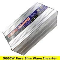 Nuevo Potencia máxima 5000 W onda sinusoidal pura fuera de la rejilla inversor DC12V 24 V