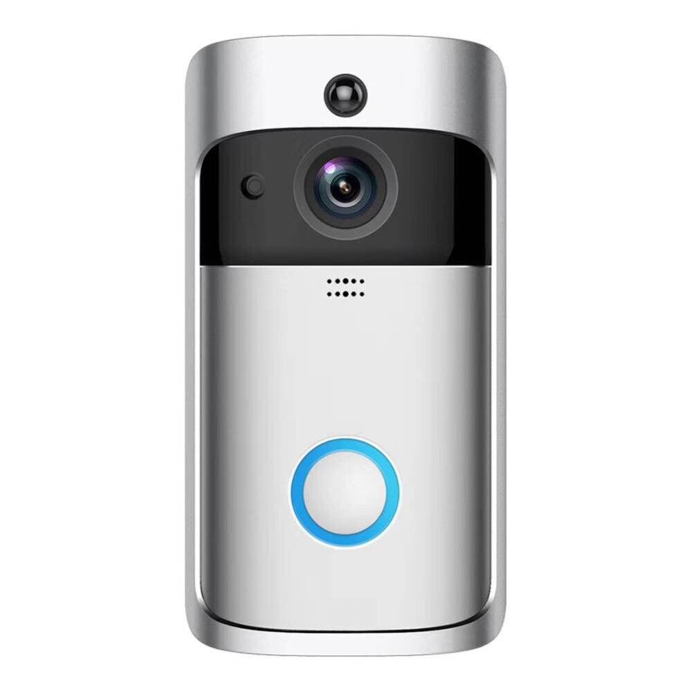 WiFi Smart sécurité sans fil Sonnette HD 720 P Visuel Interphone Enregistrement Vidéo Porte Téléphone À Distance Accueil Surveillance vision nocturne