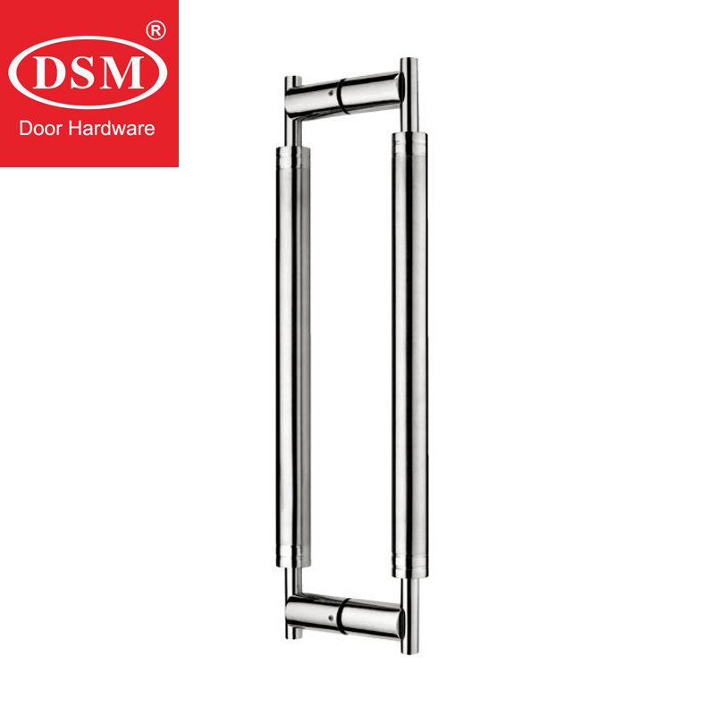 600mm Brushed 304 Grade Stainless Steel Pull/Push Entrance Door Handle For Timber/Glass/Wooden/Metal Frame Doors PA-169