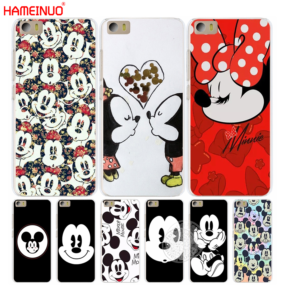 HAMEINUO Mickey Minnie Funny Face Cover phone Case for Xiaomi M Mi 2 3 4 5 5S 5C