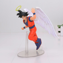 Dragon Ball Son Goku PVC Action Figures DRAMATIC SHOWCASE Angel Goku Dragon Ball Z Model Toy Doll Figuras DBZ Gokou