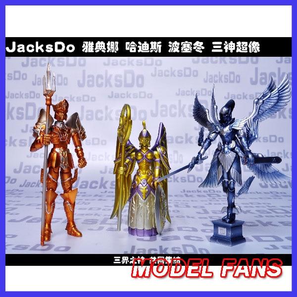 US $77 0 |MODEL FANS Jacksdo saint seiya cloth myth Athena + Hades  +Poseidon God Cloth form resin made Freeshipping-in Action & Toy Figures  from Toys