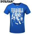 DUZJIAN Summer World Cup Andres Iniesta men's T-shirt man t shirt summer 2016 child bodybuilding t-shirt compression shirt