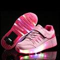 Levou rolo roda de skate sapatos para mulheres solteiras sapatos respirável confortável nova sports shoes usb recarregada