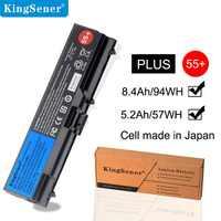 KingSener batterie d'ordinateur portable pour ThinkPad L512 L412 L520 E425 E520 E525 W520 T410 T420 T510 T520 42T4751 42T4752 42T4885 42T4886 55 +