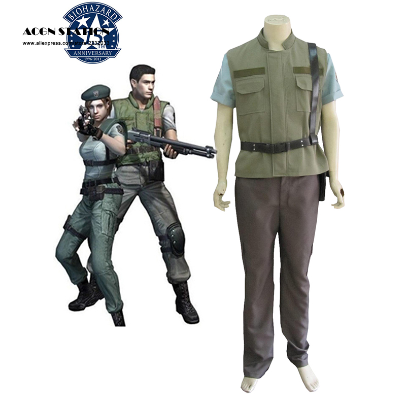 2017 Hot Selling Costume Resident Evil 1 Chris Redfield S T A R S
