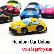 2019 new product mini Inertia cartoon car 5/10/50/100 PCS/LOT Super Mini Colorful cartoon Pull Back cars toys for kids boy gift 4 pcs alloy pull back car toys car children racing car baby mini cars cartoon pull back bus truck kids toys for children boy gif