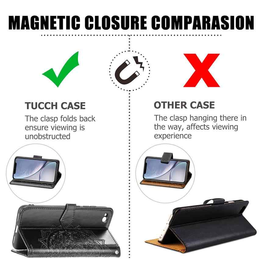 Honor 8 lite case Phone Flip Wallet Case For Huawei P8 LITE 2017 Cover Screen Protector For Honor 8 lite P8 LITE 2017 Full film