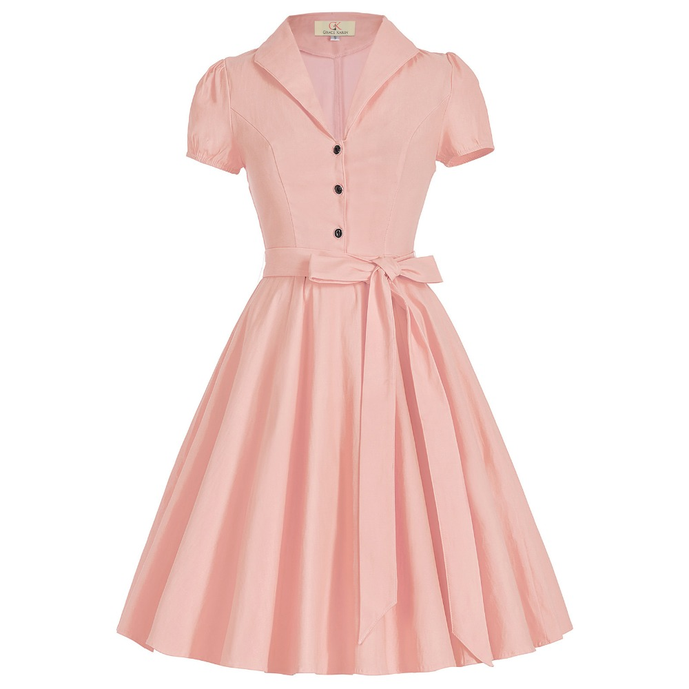 Fashion Women Dresses 2017 New Retro Vintage 50s Dress ...