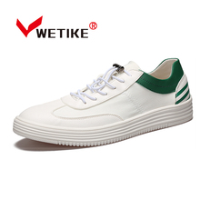 2017 Men's Skateboarding Shoes Classic Desgin White Flat Shoes Breathable Outdoor Sports Shoes Sneakers For Men Size US 6.5-10