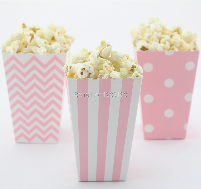 Aliexpress Buy 40pcs Small Movie Night Popcorn Boxes Kids Beauteous Decorative Popcorn Boxes