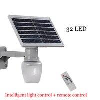 Солнечный садовый свет 10 Вт умный пульт дистанционного управления открытый водонепроницаемый светодиодный солнечный яблочный свет сад ви