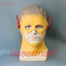 The Flash 3 Mask Cosplay Kid Full Head Adult Latex Halloween Party Prop