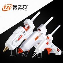 30 Вт 80 Вт 100 Вт ЕС/штекер термоплавкий клеевой пистолет 7 мм Клей-карандаш промышленные мини-пистолеты термо Gluegun термотемпературный инструмент