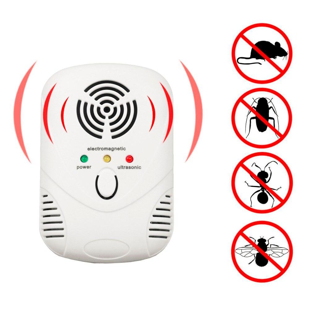 EU US Plug Elektronische Ultrasone Anti Mosquito Insect - Tuinbenodigdheden