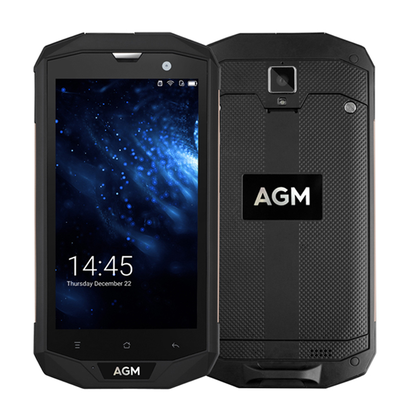 AGM A8 IP68 Waterproof Mobile Phone 5 0 HD 3 4GB RAM 32 64GB ROM Qualcomm