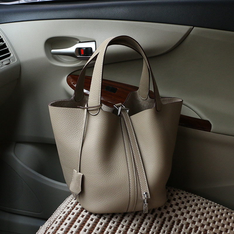 Bolso Mujer skórzane damskie na ramię torba projektant torebki damskie Top uchwyt torba moda wiadro torebki na ramię Bolsas Feminina w Torebki na ramię od Bagaże i torby na  Grupa 3