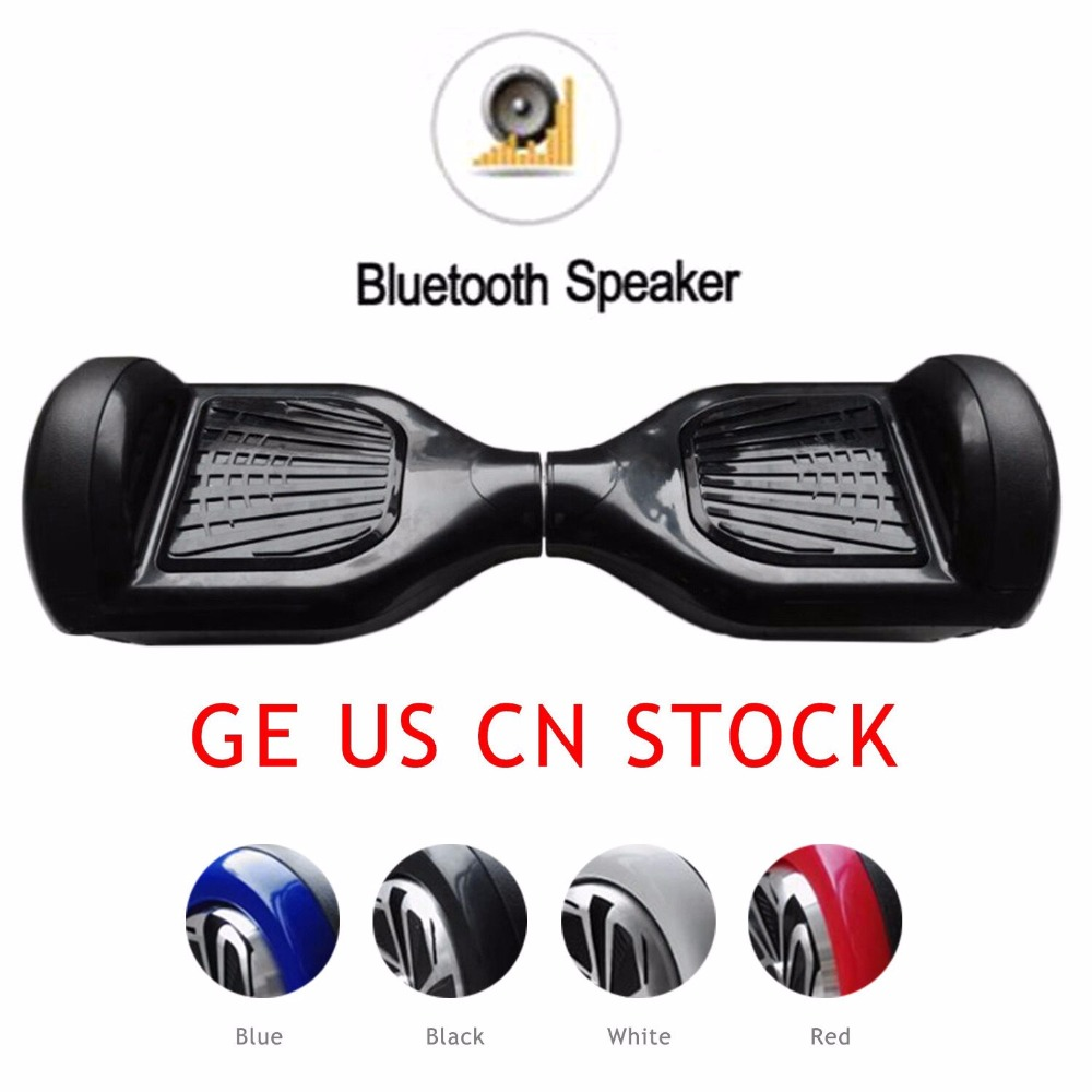 6.5 inch Hoverboard Self Balancing Electric Power Scooter Geroscope Two Wheels Skateboard with Bluetooth Speaker megawheels tw01s self balancing electric scooter blue