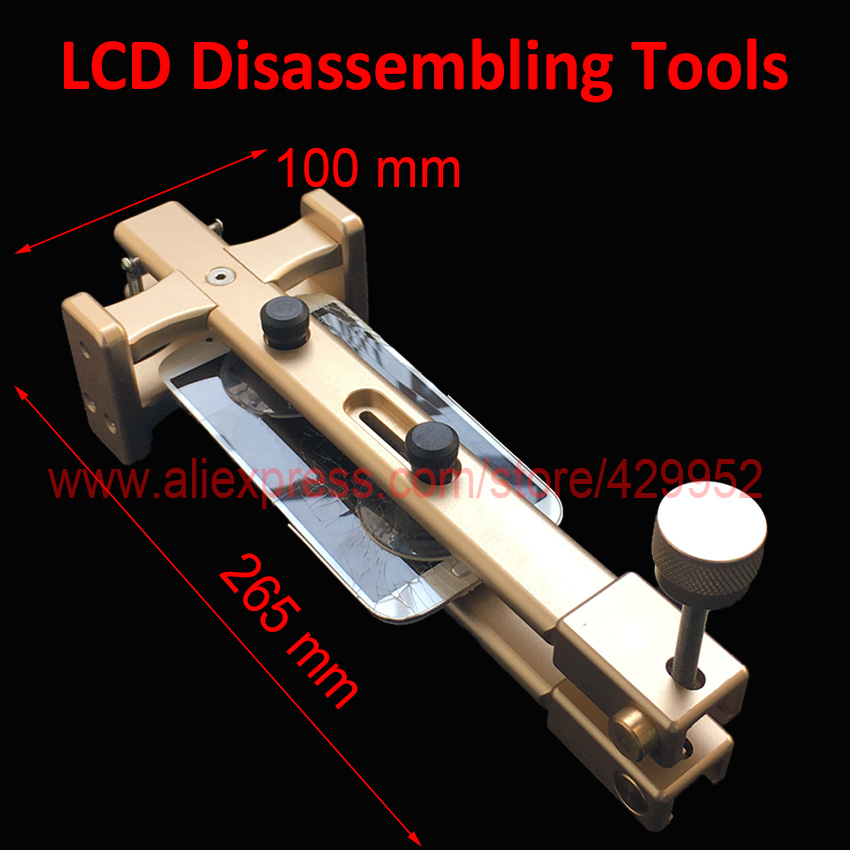 LCD Touch Screen Non-heat Disassemble Opening Tools Sucker Pry Pieces Clamp Piler For iPhone Samsung Tablet PC Repair la46b610a5r ssb460h16v01 l inv46b16f used disassemble