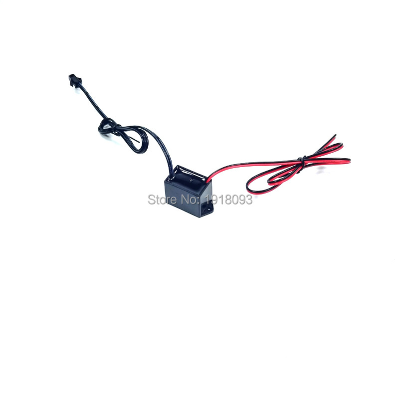 2019 Cheap 12V 1-5Meter Steady On EL Wire Driver Neon LED Light Inverter For Loading 5Meters EL Wire EL Strip For Party Supplies