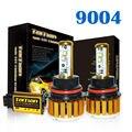 Taitian LED Headlight Bulbs Kit  9004 Hi/Lo 80w 7,200Lm 6K Cool White - 2 Yr Warranty Fog DRL Replace Light Source Driving Bulbs