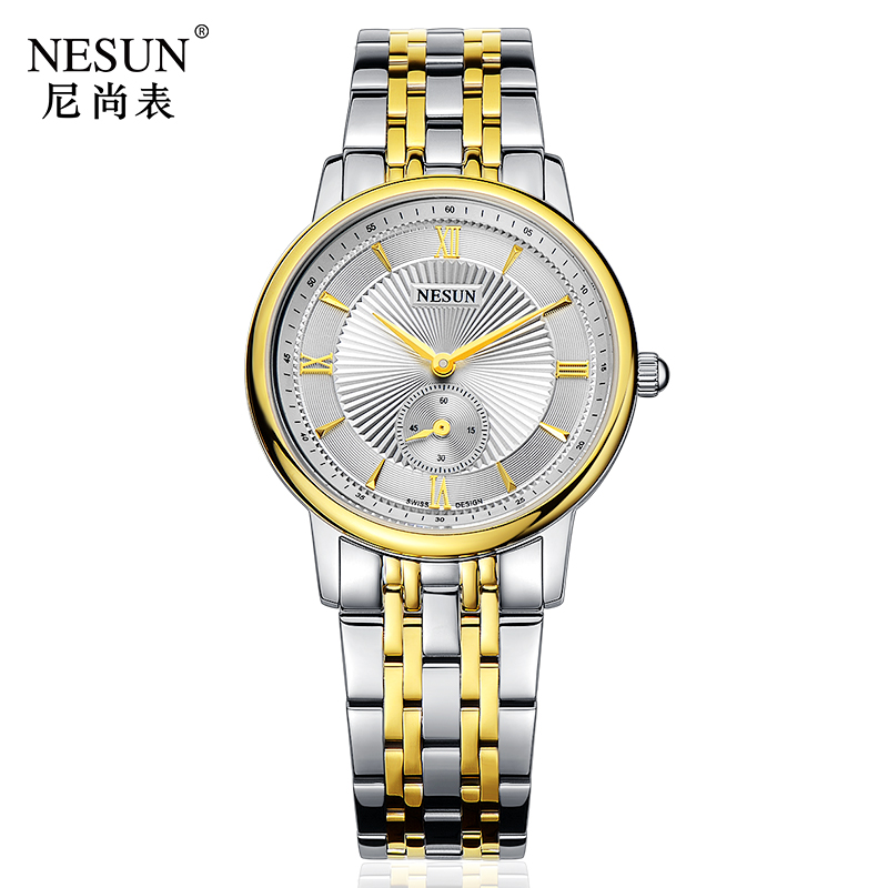 Nesun Switzerland Luxury Brand Watch Women Japan MIYOTA Quartz Movement Women's Watches Stainless Steel Couple's Clock N8501-SW3