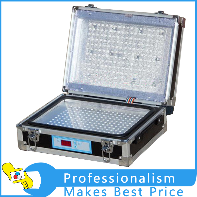 Double Sides UV Light Exposure Machine UV Photosensitive Plate PCB Exposure Box With High Quality silk screen plate exposure unit with vacuum exposure unit price expsoure unti for sale page 3