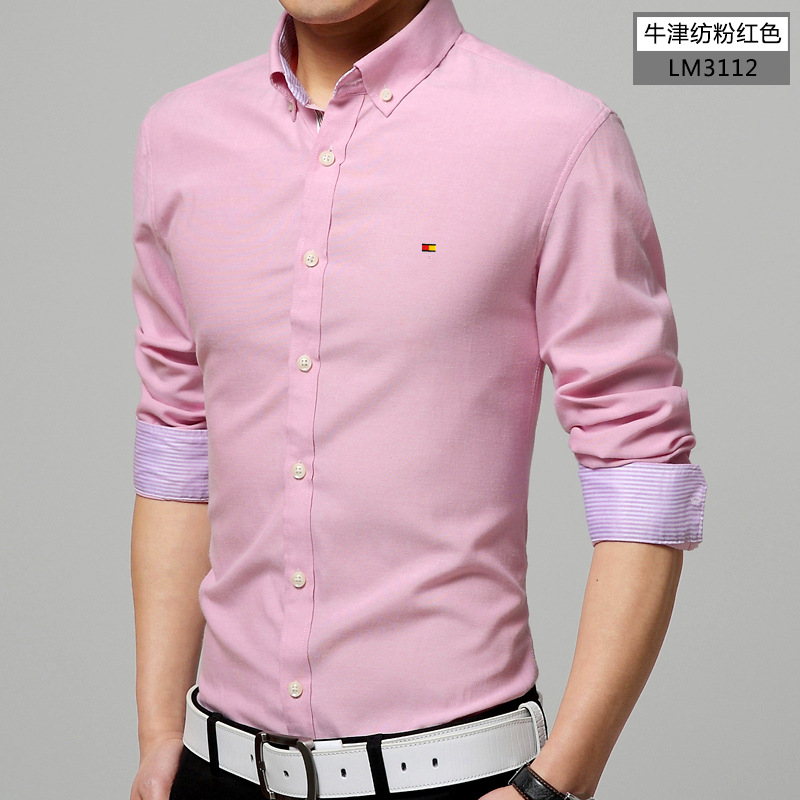 Baby Pink Mens Shirt | Is Shirt