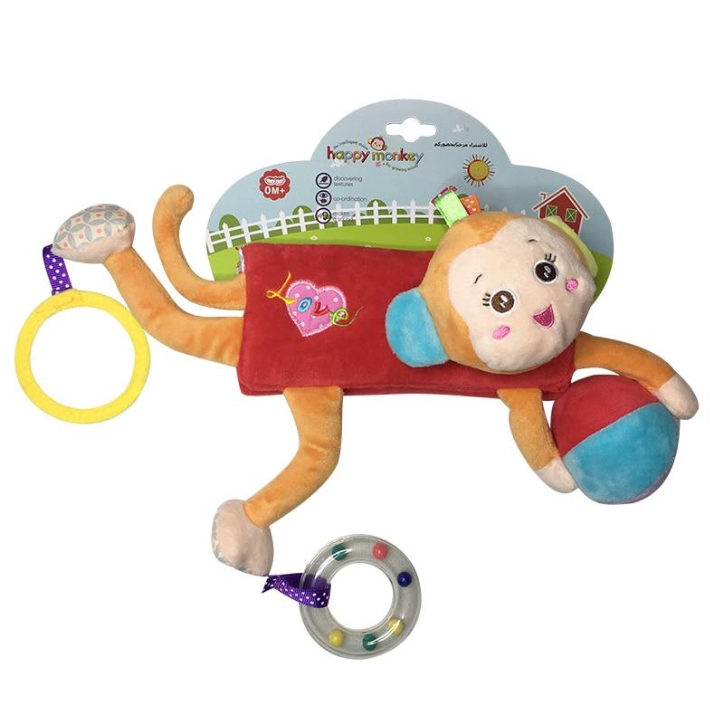 2018 новий дитина новонароджених м'які плюшеві іграшки дитяче ліжечко підвісні іграшки коляска граючи іграшковий автомобіль токарний верстат висить дитячі брязкальця