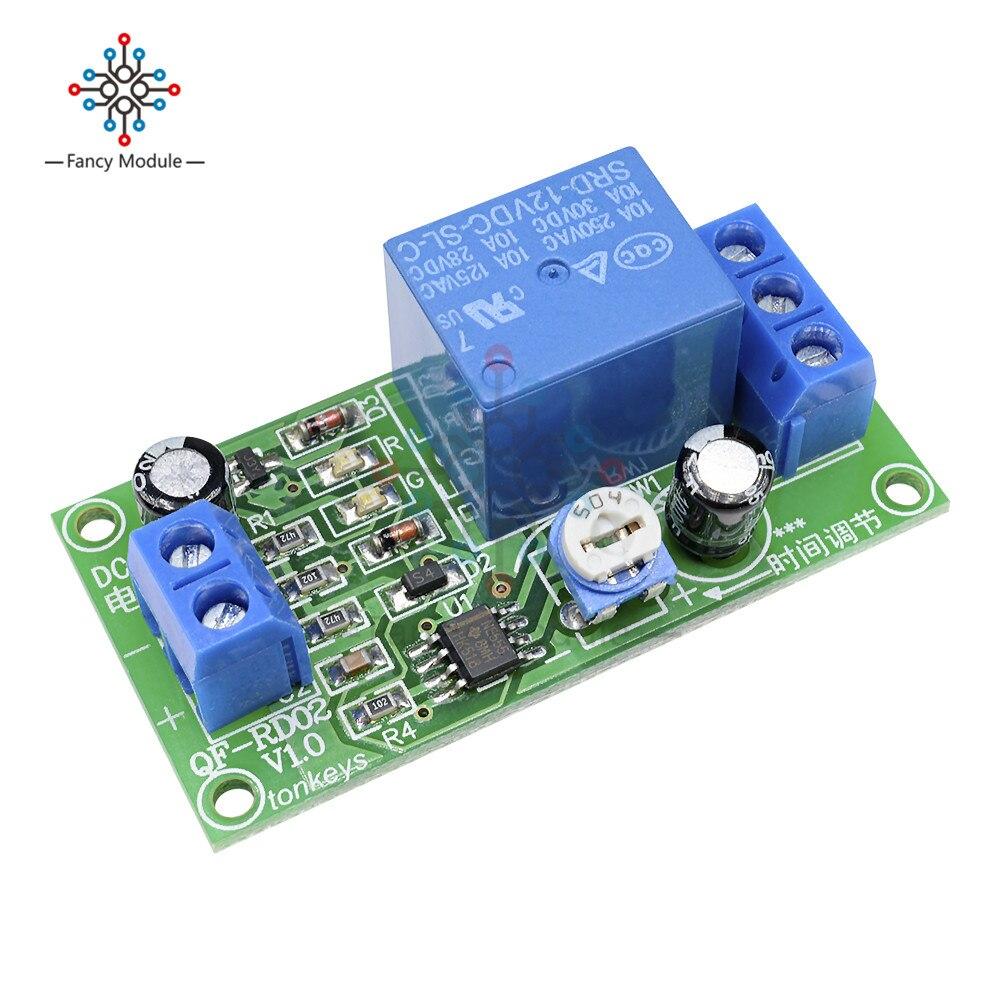 Dc 12v Conduction Ne555 Delay Timer Switch Adjustable Time
