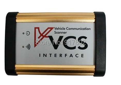 Новинка VCS Интерфейс автомобиля Связь сканер Интерфейс VCS сканер multi-языки широкий диапазон автомобили Multilanguage