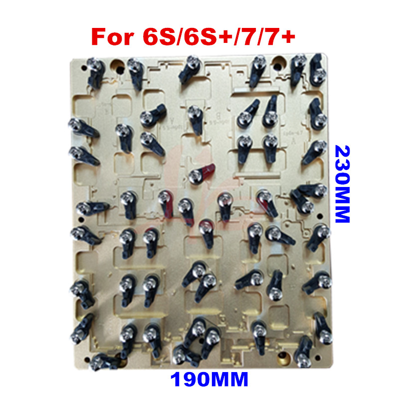 цены CNC IC chip motherboard repairing phone mould jig for 6S 6S+ 7  7+ with date