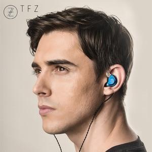 Image 5 - TFZ T2 Dynamic Driver Hybrid In ear Earphones HIFI DJ Monitor Earbuds Earphones Detachable 2pin 0.78mm S2 AIR KING NO.3 T3 QUEEN