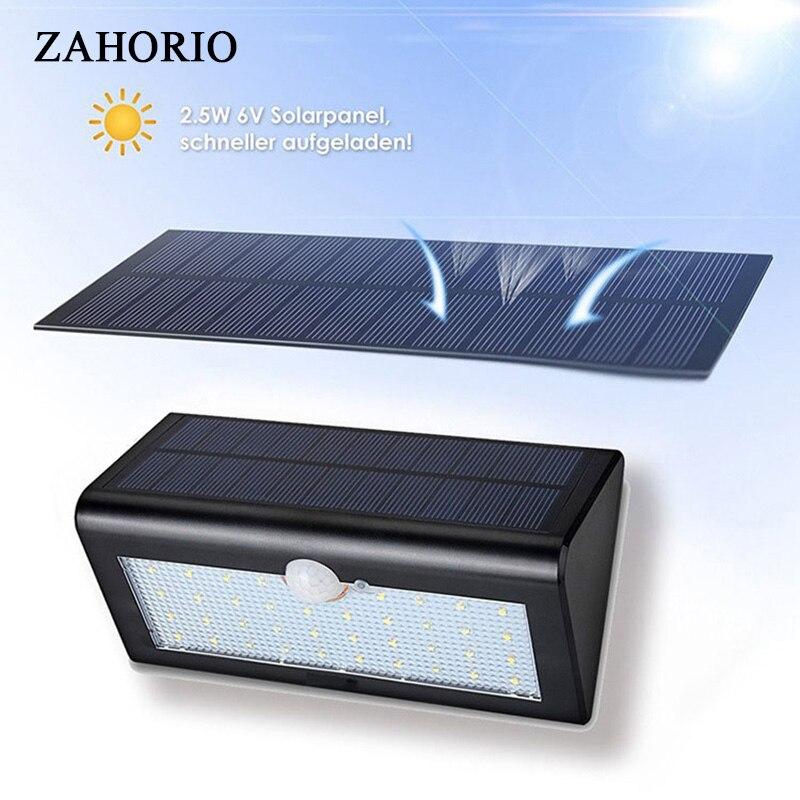 Solar Lampe Outdoor-Led-Licht Wand Straße Garten Sicherheit PIR Motion Sensor Solar Lampada Wasserdichte IP65 Dekorative