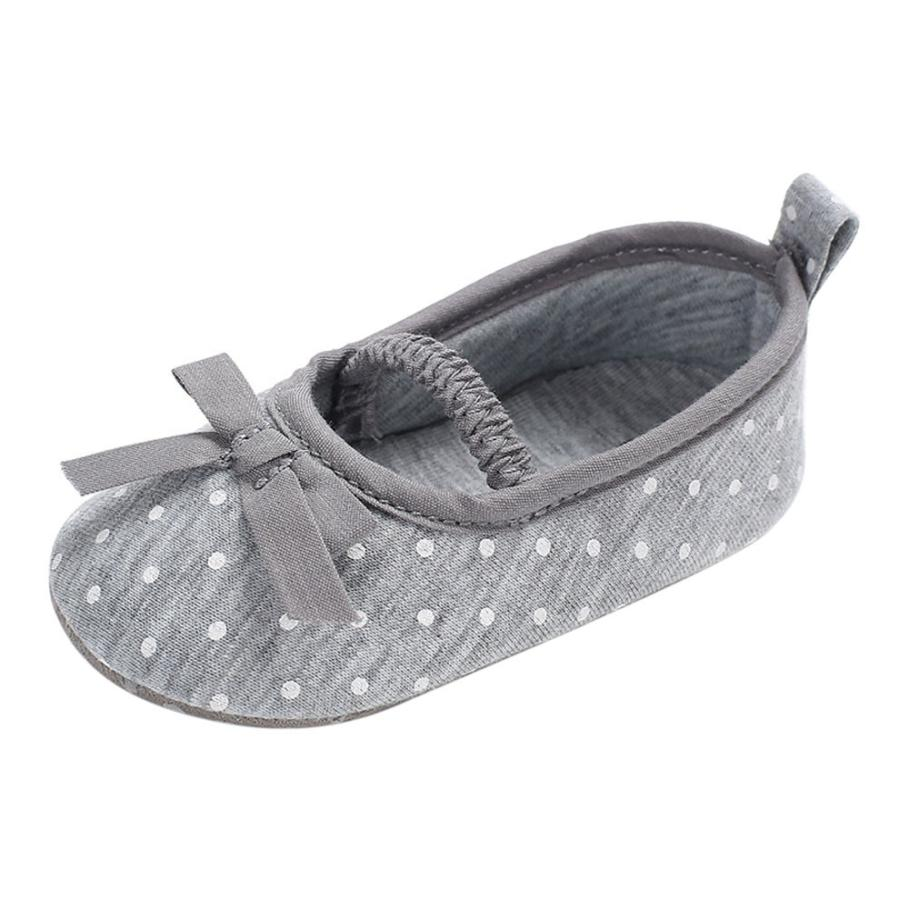 2018 New Hot Baby Infant Kids Girl Bowknot Soft Sole Crib Toddler Newborn Shoes High Quality Lovely Gift