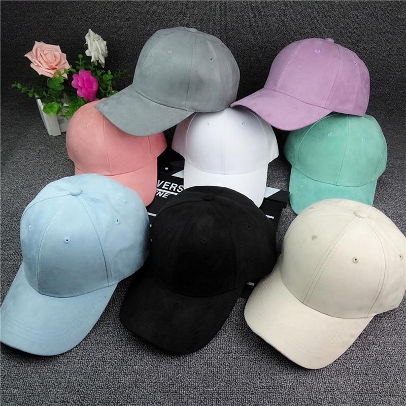 2017 Women Baseball Velvet Cap Soft Fashion Hats for Men Teens Hip Hop Solid Vintage Warm Mens Baseball Caps Autumn hat